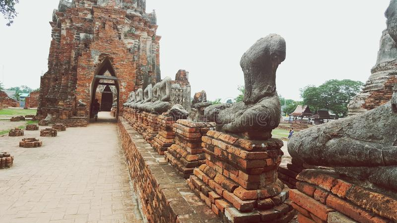 Budas decapitadas imagem de stock royalty free
