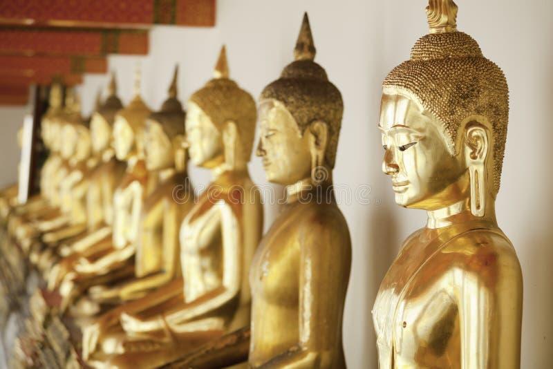 Budas Dourado Imagem de Stock
