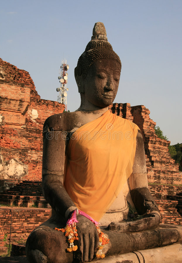 Budda Buddhism in Thailand royalty free stock image