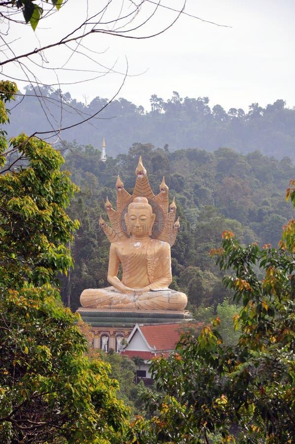 Budda grande. Tailândia. Console Phuket. imagem de stock