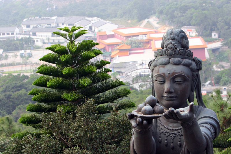 Buddah Hands royalty free stock photos