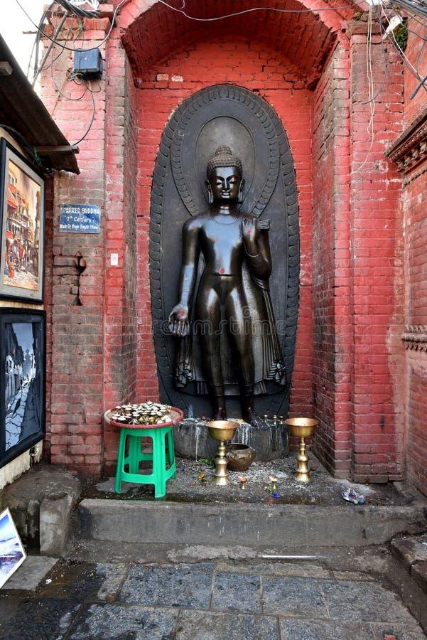 Buddanathstupa, Nepal stock fotografie