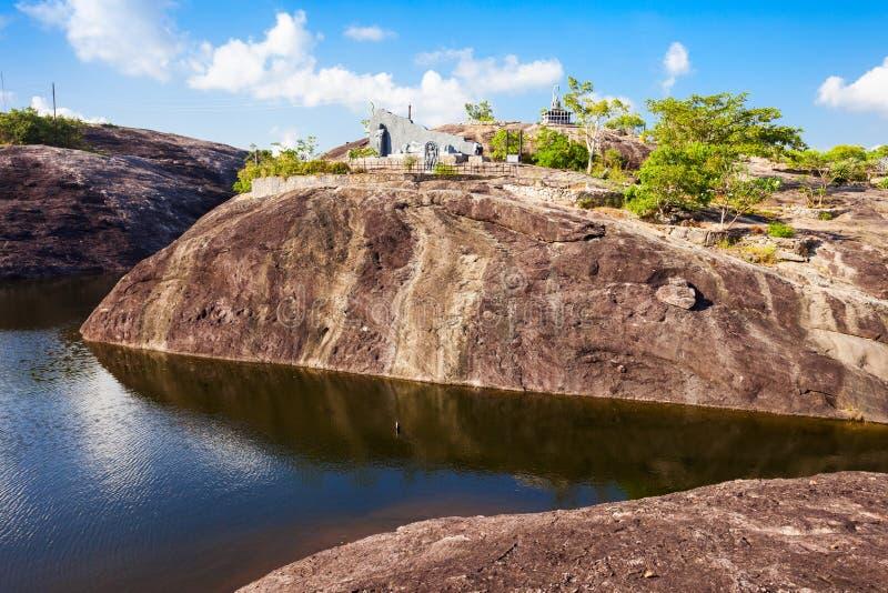 Buddangala Rajamaha Viharaya,安帕拉 图库摄影