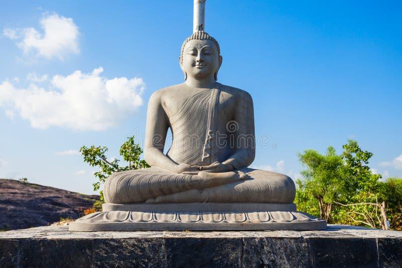 Buddangala Rajamaha Viharaya,安帕拉 免版税图库摄影