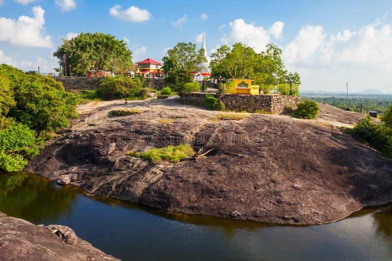 Buddangala Rajamaha Viharaya,安帕拉 库存照片