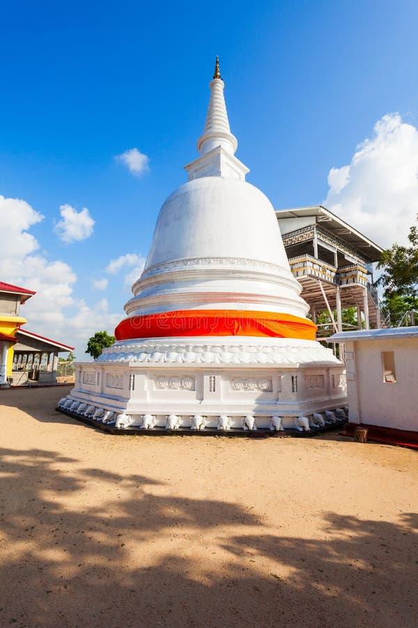 Buddangala Rajamaha Viharaya,安帕拉 免版税库存图片