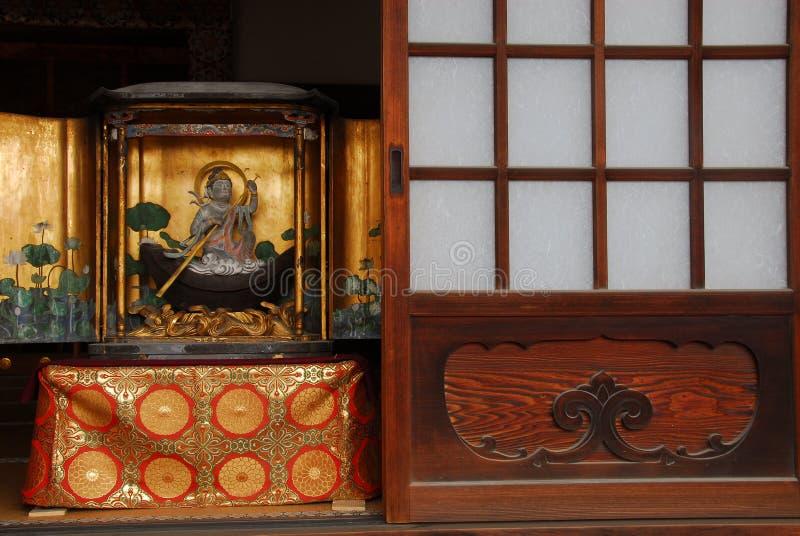 Buddha świątyni drzwi zdjęcia royalty free
