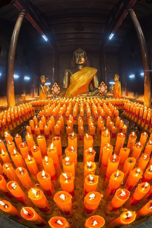 buddha świeczka obraz royalty free