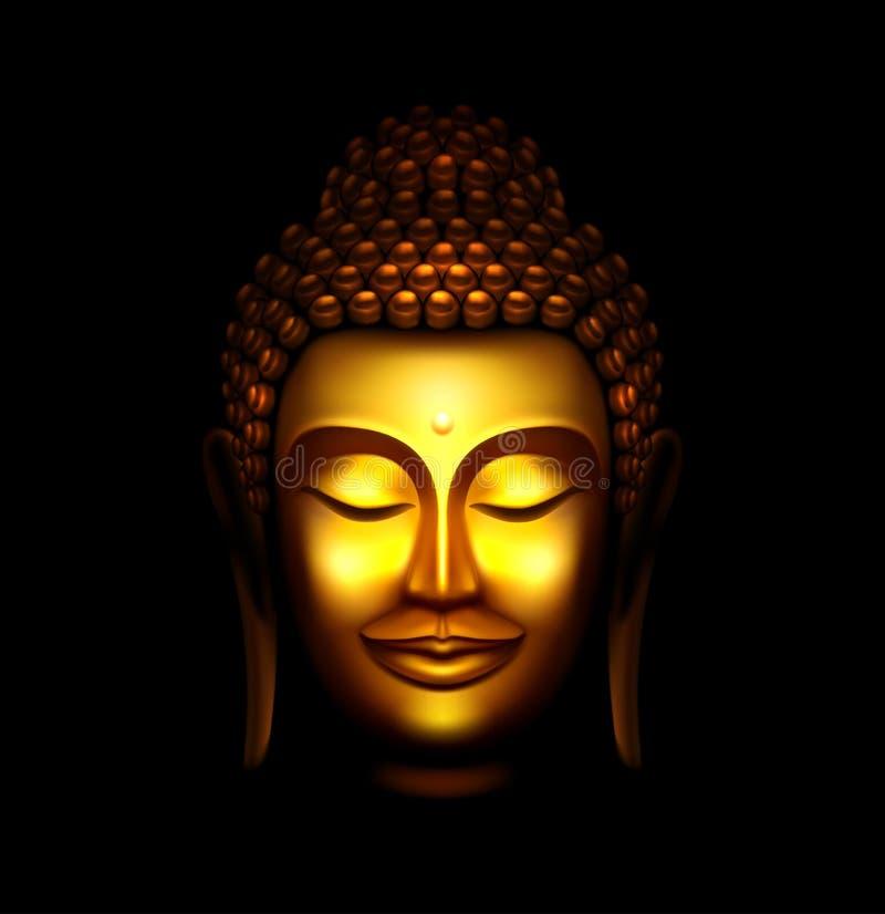 buddha ilustração do vetor