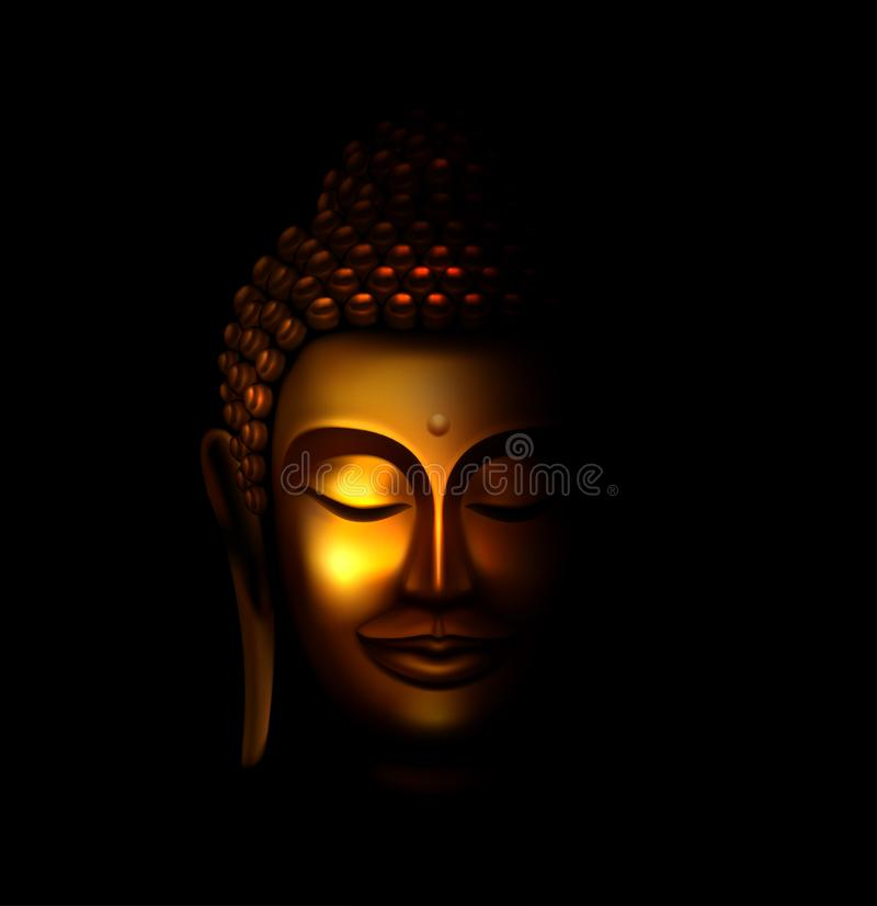 buddha ilustracji