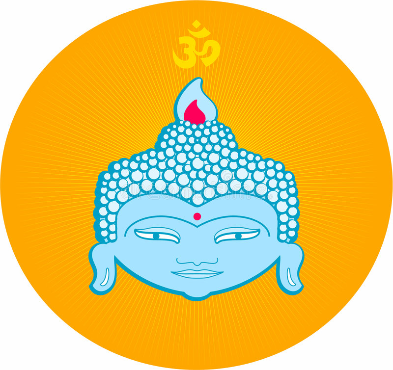 buddha stock illustrationer