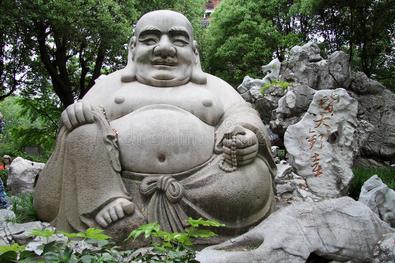 Download Buddha stock photo. Image of smile, temple, stone, seated - 25026670