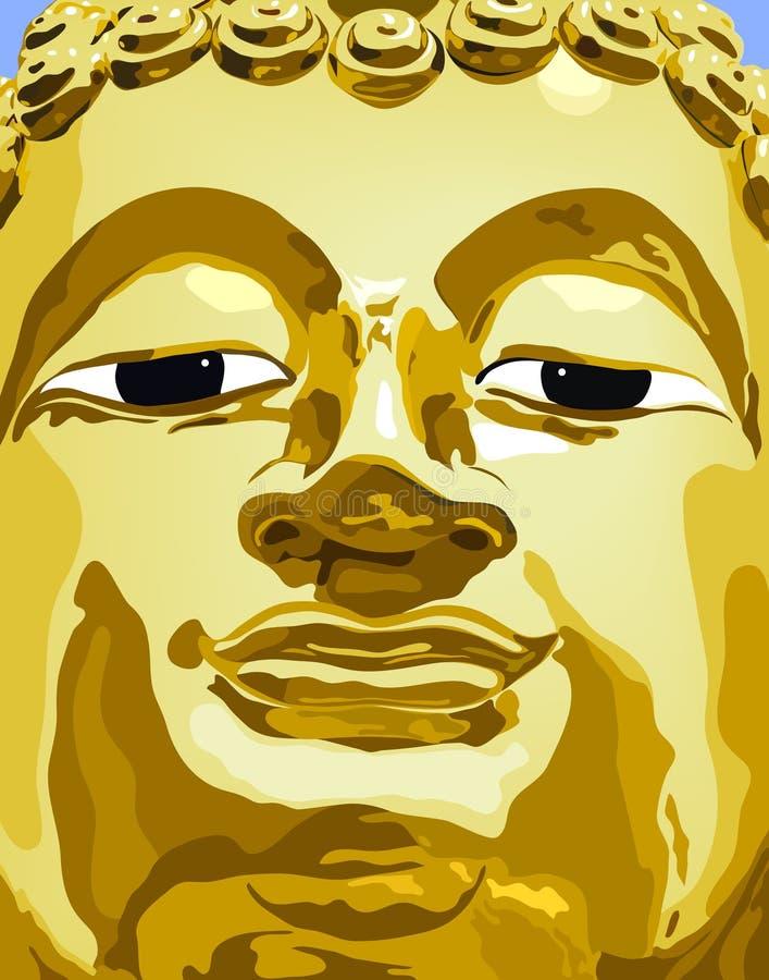 Buddha ilustração royalty free