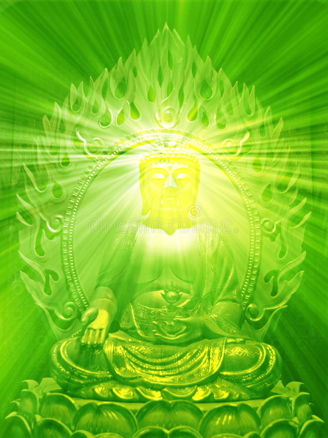 Buddha-Abbildung lizenzfreie abbildung