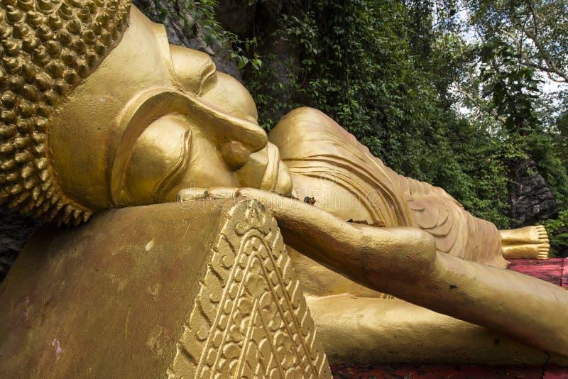 Buddha addormentato fotografia stock libera da diritti