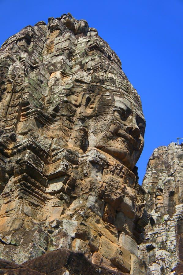 Buddha affronta fotografie stock