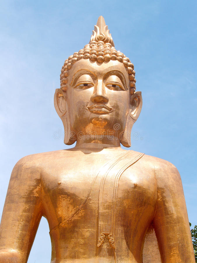 Buddha Amnat Charoen, Thailand zdjęcie stock