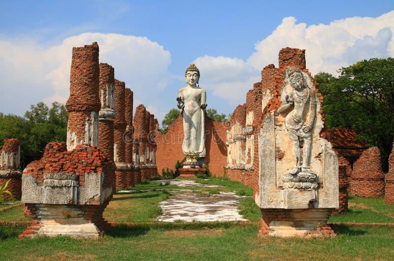 buddha antyczny miasto zdjęcia royalty free