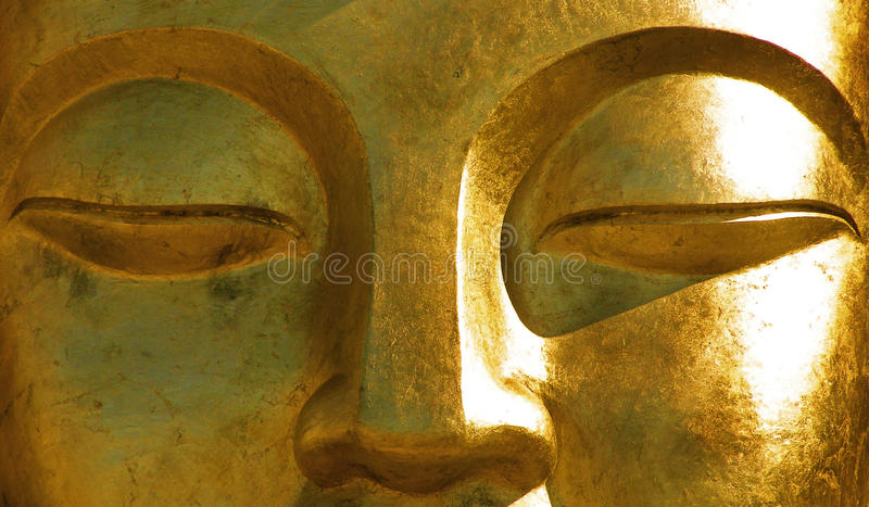 Buddha-Augen lizenzfreies stockbild