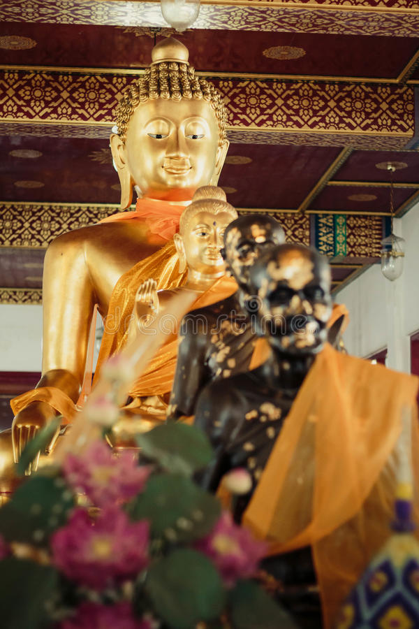 Buddha Bangkok, Thailand lizenzfreie stockbilder