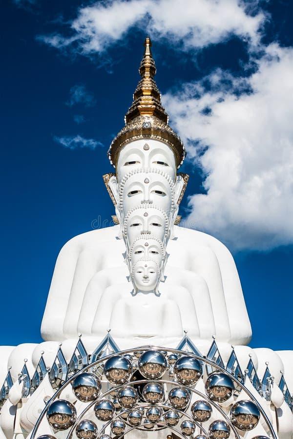 Buddha bazylika 5 Pha chująca szklana świątynia zdjęcia stock
