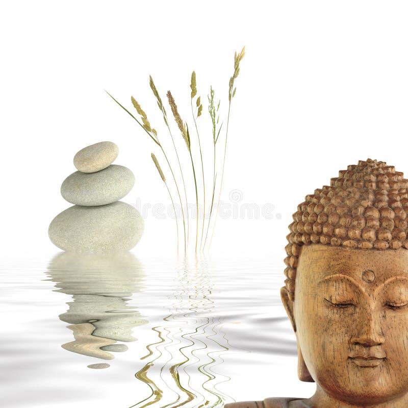 buddha begrundande fotografering för bildbyråer