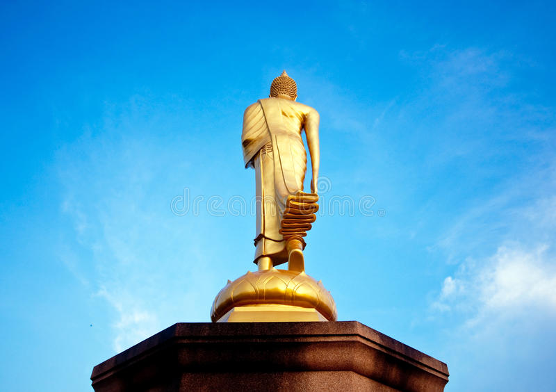 Buddha behind royalty free stock photos