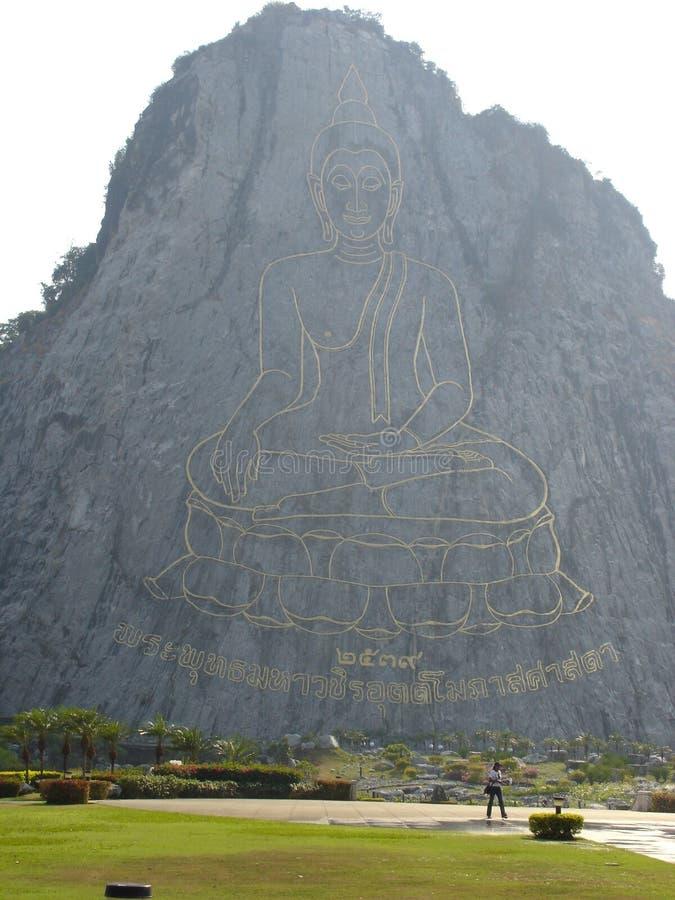 Buddha-Bild, Pattaya Lizenzfreies Stockbild