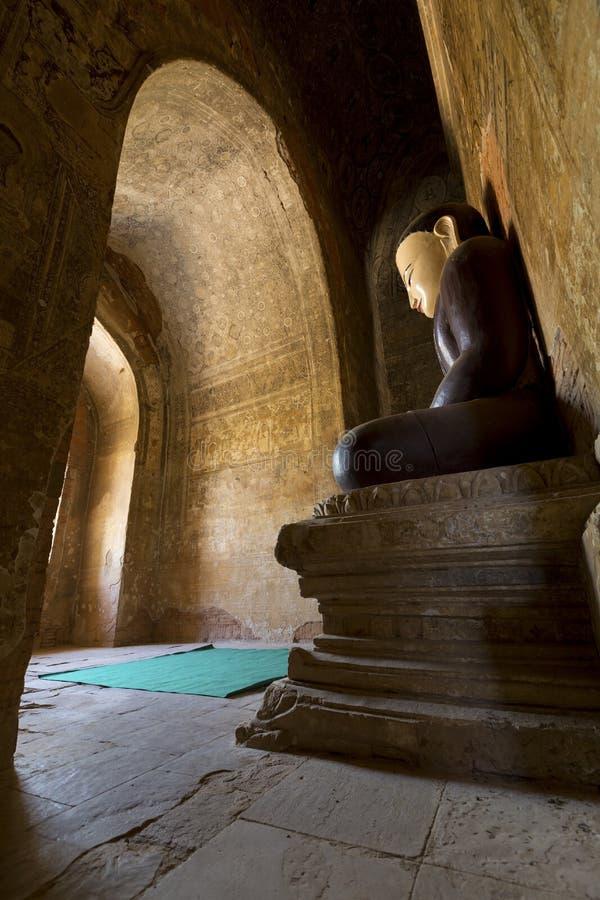 Buddha-Bild und -malereien stockfotos