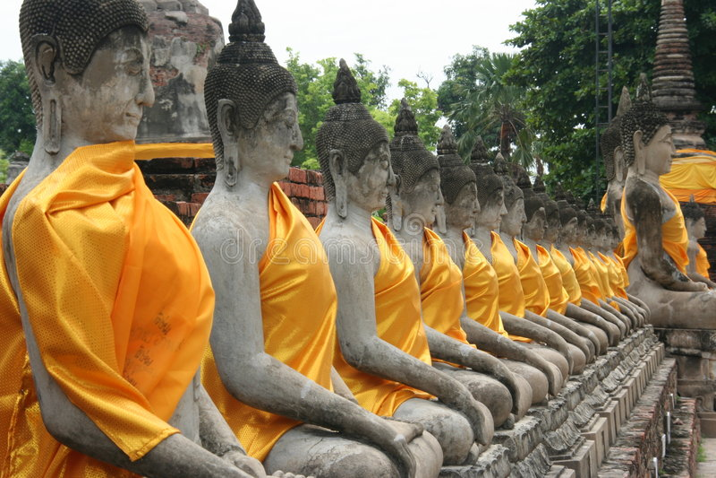 Buddha-Bilder stockfoto