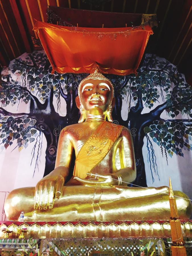 buddha bildprincipal royaltyfria foton