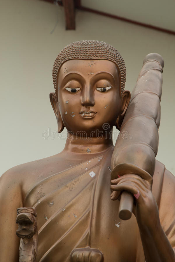 Buddha bildstil royaltyfria foton