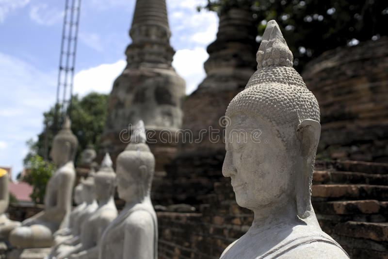 Buddha budda statue in cambodia stock image