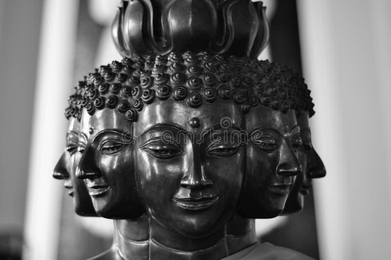 Buddha buddhaen arkivfoto