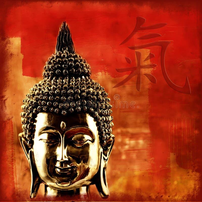 buddha chi ilustracja wektor