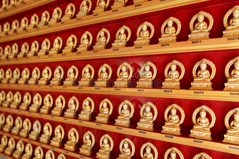 Download Buddha in a Chinese Temple stock photo. Image of religion - 9600220