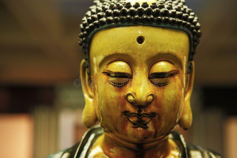 Buddha Close Up Stock Photography