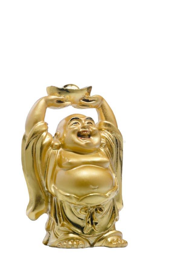 Buddha con el tesoro foto de archivo libre de regalías