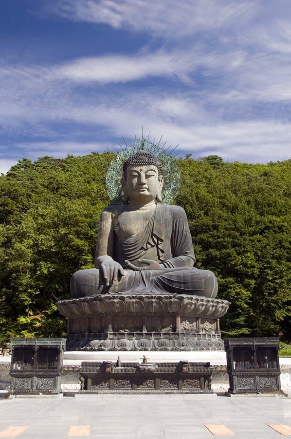 Buddha, Coreia do Sul fotografia de stock