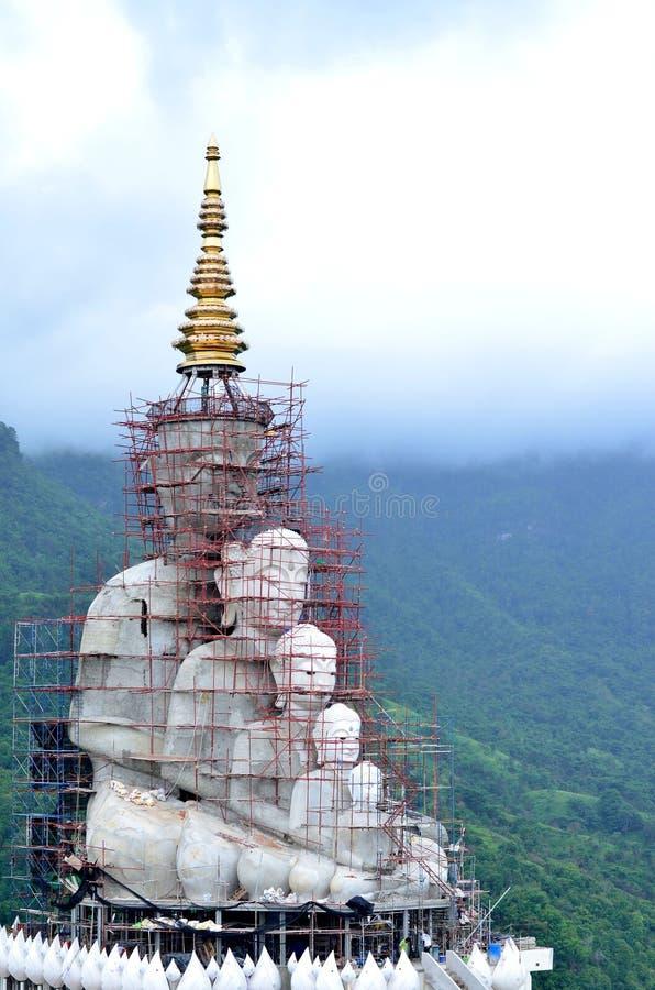 Buddha costruito fotografie stock libere da diritti