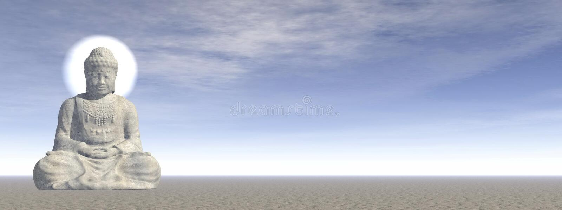 Buddha - 3D render vector illustration