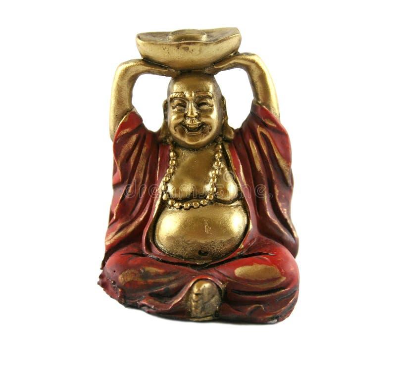 Buddha de bronze imagem de stock