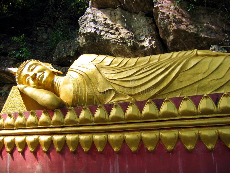 Buddha de descanso fotografía de archivo libre de regalías
