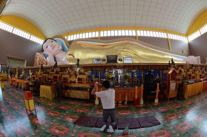 Buddha de descanso fotografía de archivo