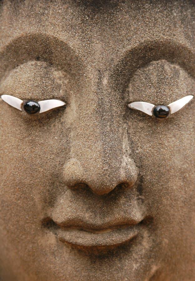 Buddha de piedra imágenes de archivo libres de regalías