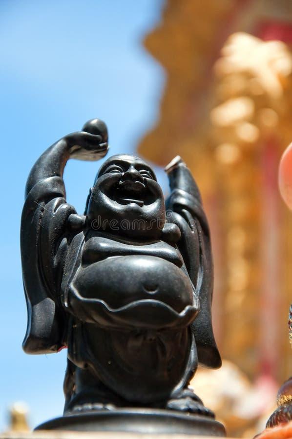 Buddha de risa imagen de archivo
