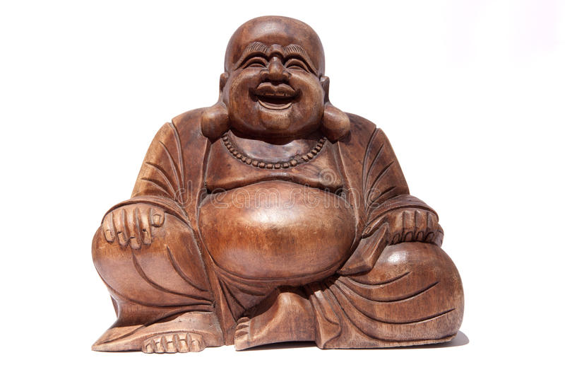 Buddha de sorriso fotos de stock royalty free