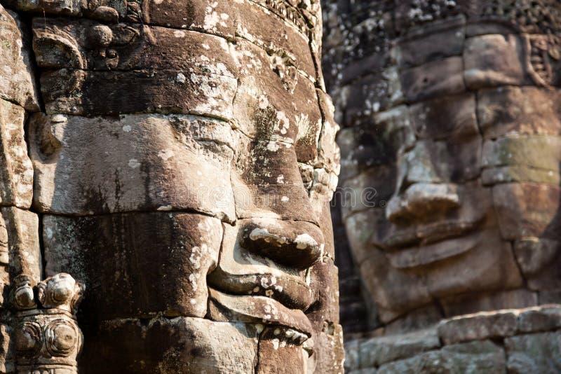 Buddha de sorriso gigante imagem de stock royalty free