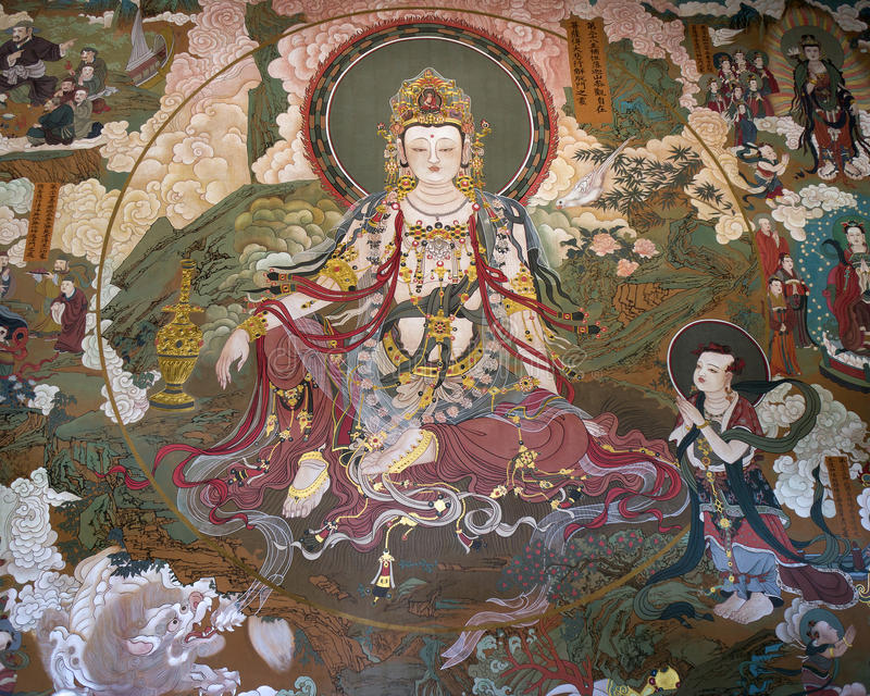 Buddha del bodhisattva libre fotos de archivo libres de regalías