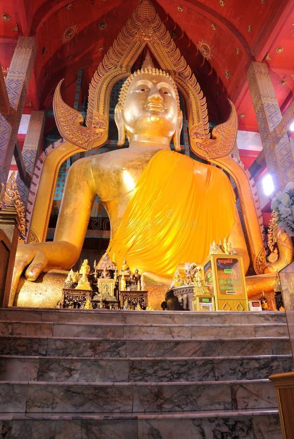 Buddha dell'interno fotografia stock libera da diritti